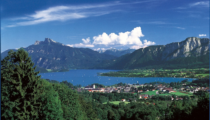 Another breathtaking view of the Salzkammergut
